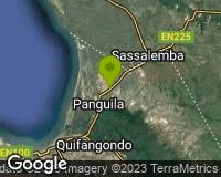 Panguila - Mapa da área