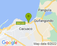 Cacuaco - Mapa da área