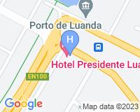 Hotel Presidente Luanda - Area map