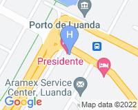Hotel Presidente Luanda - Mapa da área