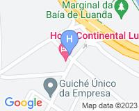Costa Hotel - Mapa da área