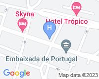 Hotel Skyna - Area map