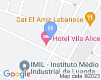 Hotel Vila Alice - Mapa da área