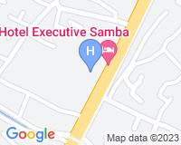 Executive Hotel Samba - Mapa da área