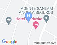 Hotel Mariuska - Mapa da área