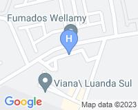 IKA Hotel Luanda - Mapa da área