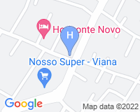 Hotel Horizonte Novo - Area map