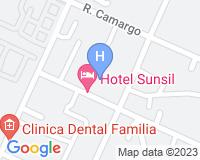 Sunsil Hotel - Mapa da área