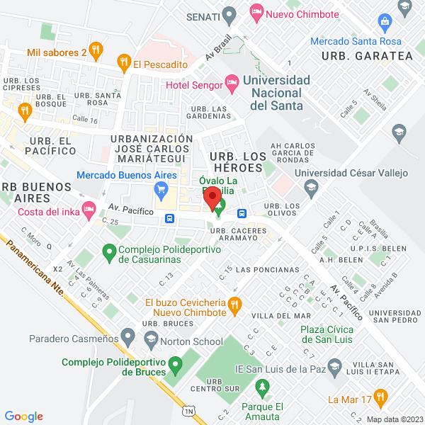 Mz R3 lote 22, Ovalo La Familia. Nuevo Chimbote, Ancash