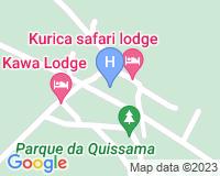 Kurica Safari Lodge - Mapa da área