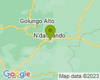 Kwanza-Norte - Mapa da área