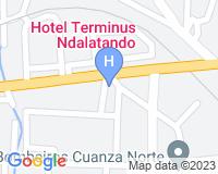 Hotel Terminus N`Dalatando - Mapa da área