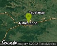 N`Dalatando - Area map