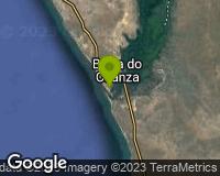 Barra do Kwanza - Mapa da área