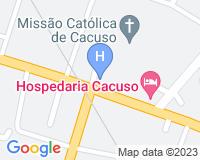 Hotel Kahombo - Mapa da área