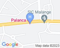 Hotel Palanca Negra - Mapa da área