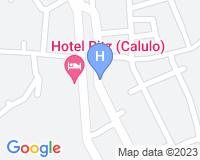 Hotel Ritz Calulo - Mapa da área