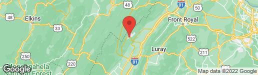 Map of 0 BRENDA LANE BASYE, VA 22810