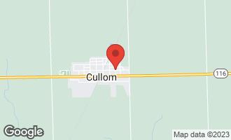Map of 0 East Hack Street CULLOM, IL 60929