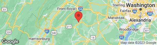 Map of 0 FODDERSTACK ROAD WASHINGTON, VA 22747