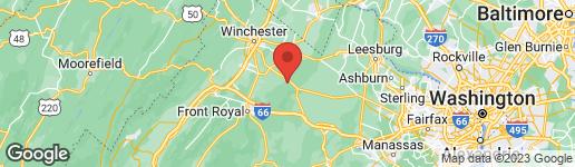 Map of 0 GORHAM LANE BOYCE, VA 22620