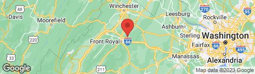 Map of 0-H HOWELLSVILLE ROAD BOYCE, VA 22620