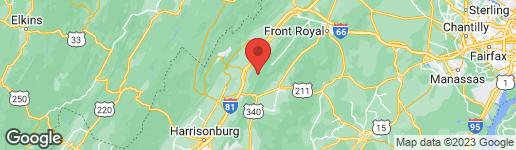 Map of 0 LILLARDS ROAD NEW MARKET, VA 22844