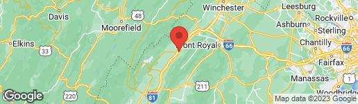Map of 0 MAIN STREET S WOODSTOCK, VA 22664