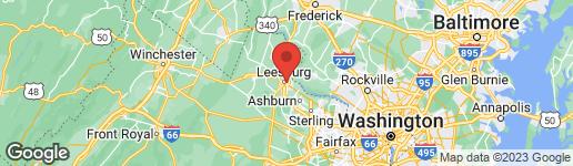 Map of 0 QUEEN STREET NE LEESBURG, VA 20176