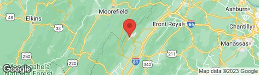Map of 0 SPITZ BASYE, VA 22810