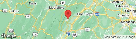 Map of 0 SPRUCE LANE BASYE, VA 22810