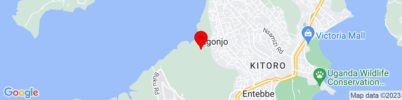 Google Map of 0.06444444444444444, 32.44694444444444