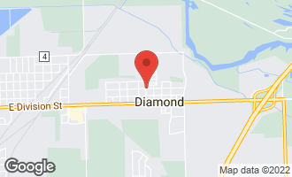 Map of 0000 East Stellon Street DIAMOND, IL 60416