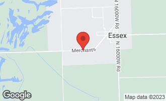 Map of 0000 South Merchants Street ESSEX, IL 60935