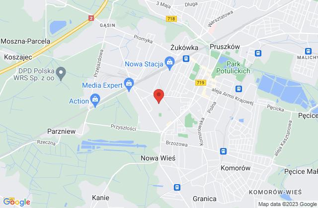 Wyświetl Małgorzata Mędrzykowska,ABAM na mapie