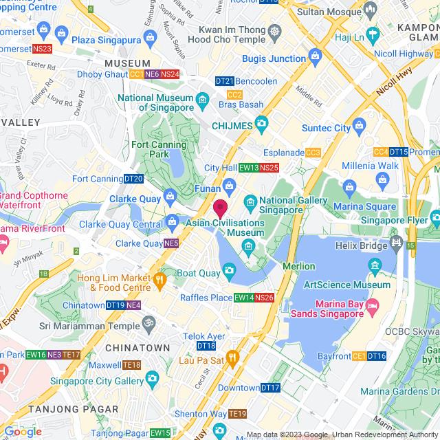 Google Map of 08-08 High Street Centre, Singapore 179094