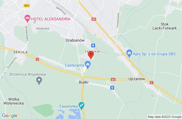 Wyświetl Paweł Bednarczyk,F.H.U. DB-CAR Paweł Bednarczyk na mapie