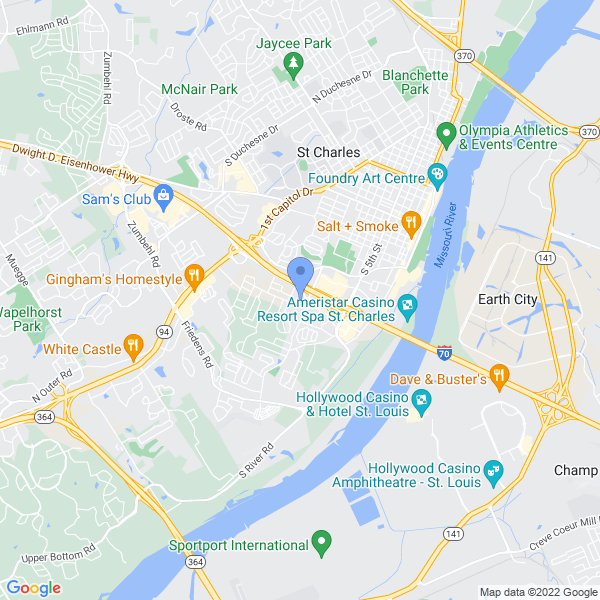 Anime St. Louis Map