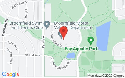 Map of 1 Descombes Drive, Broomfield, CO, USA