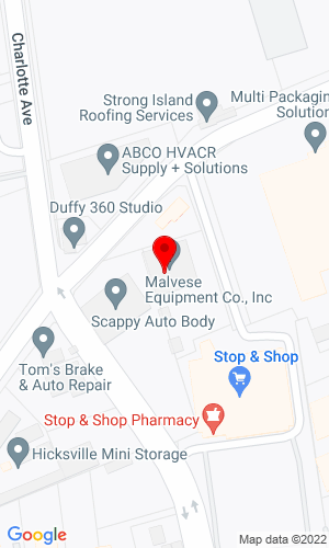 Google Map of Malvese Equipment 1 Henrietta Street, Hicksville, NY, 11801
