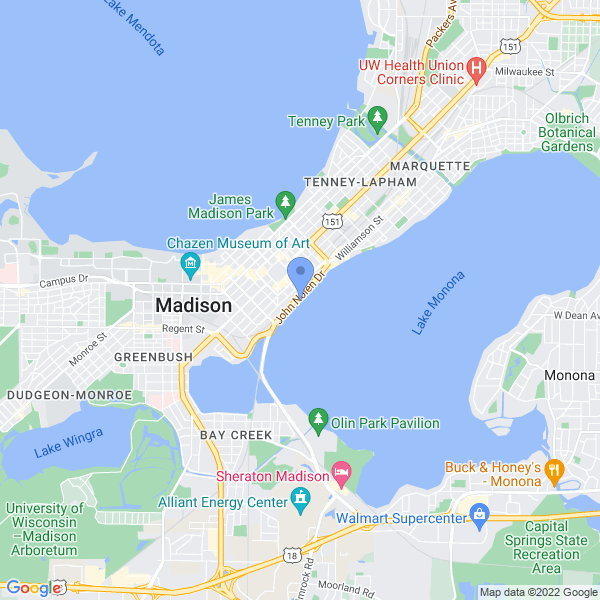 Mighty Con: Madison Comic Con Map