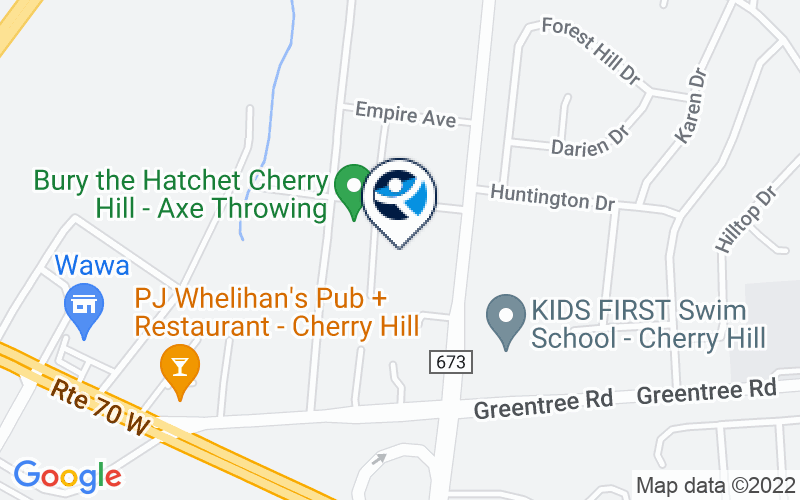Unity Place of Cherry Hill Location and Directions