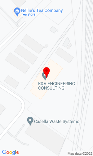 Google Map of Keenan Auction Company 1 Runway Road, So. Portland, ME, 04106