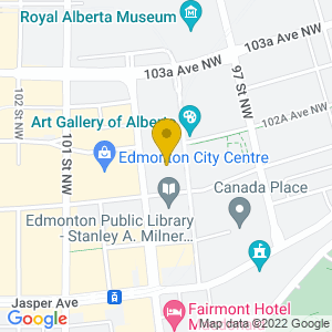 Map to Churchill Square provided by Google