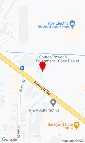 Google Map of 1 Source Power & Equipment 3240 Moffett Road, Mobile, AL, 36607