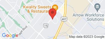 Google Map of 1+Melanie+Drive%2CBrampton%2COntario+L6T+4K8