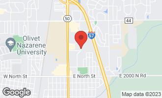 Map of 1 Christine Drive BRADLEY, IL 60915