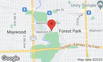 Map of 1 Gale Avenue 4E RIVER FOREST, IL 60305