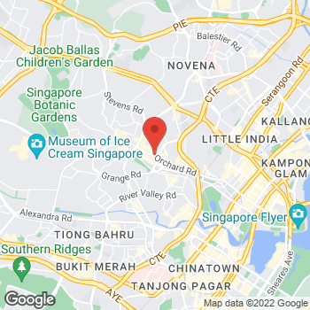 Map of Salvatore Ferragamo at 290 Orchard Road, Singapore, Singapore 238859
