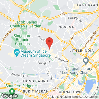 Map of Salvatore Ferragamo at 25 Scottswalk, Singapore, Singapore 228220